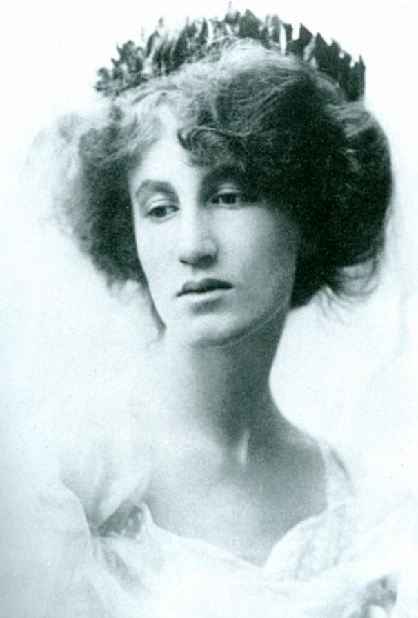 Helena Bonham Carter's grandmother, Lady Violet Bonham Carter (Asquith).