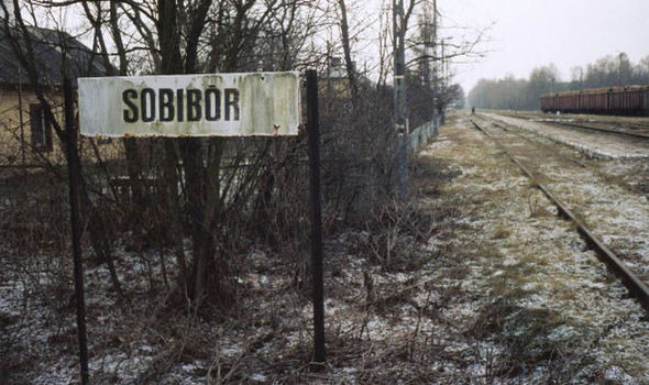 The Gosselaars arrived at Sobibor on 9 April 1943. Hollywood Ancestry - Mike Batie