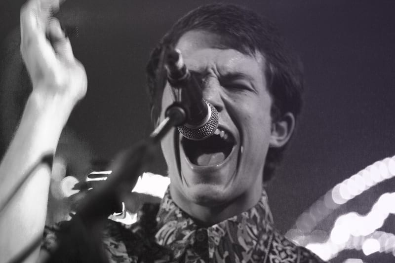 Dylan Minnette sings and performs with his band, Wallows.