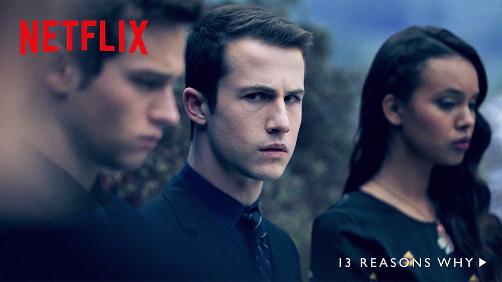 Dylan Minnette as Clay Jensen in 13 Reasons Why on Netflix | Hollywood Ancestry by Mike Batie