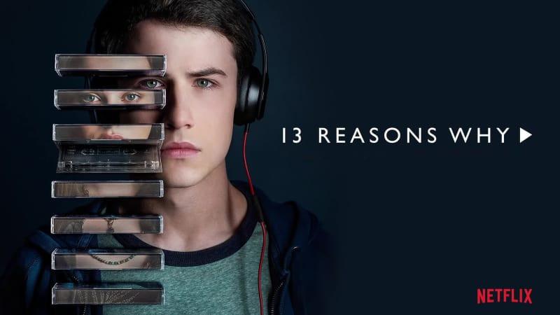 Dylan Minnette as Clay Jensen in Netflix's 13 Reasons Why.