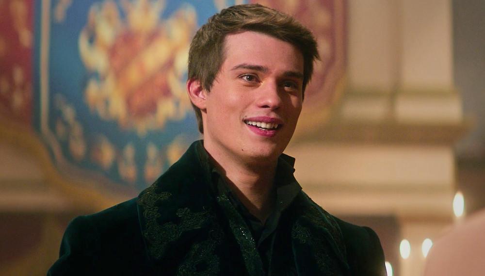 Nicholas Galitzine as Prince Robert in Amazon Prime's 'Cinderella' - Hollywood Ancestry by Mike Batie.