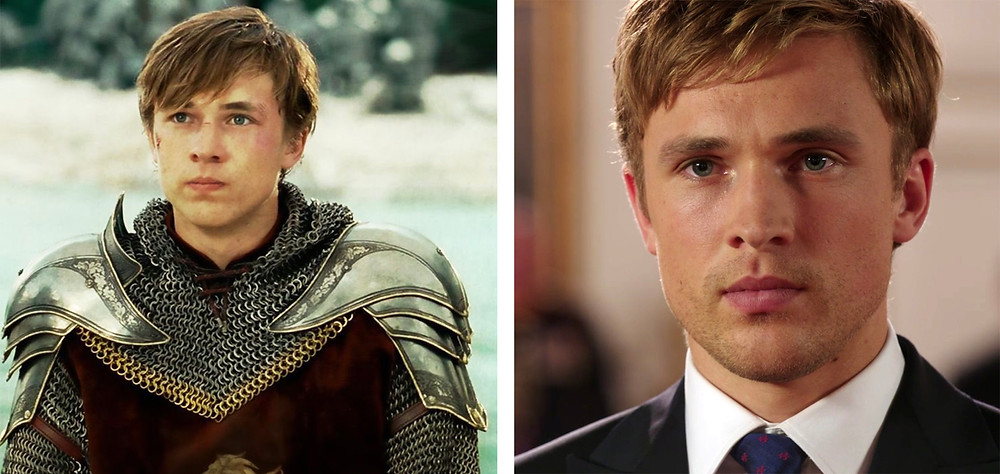 William Moseley as Peter Pevensie and Prince Liam - Hollywood Ancestry by Mike Batie