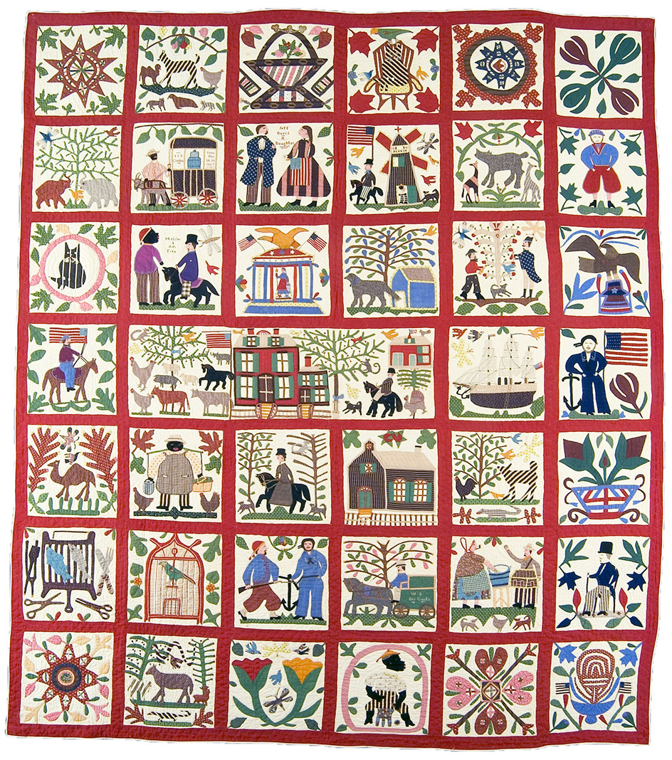 The Reconciliation Quilt by Braeden Lemaster's relative | Hollywood Ancestry by Mike Batie