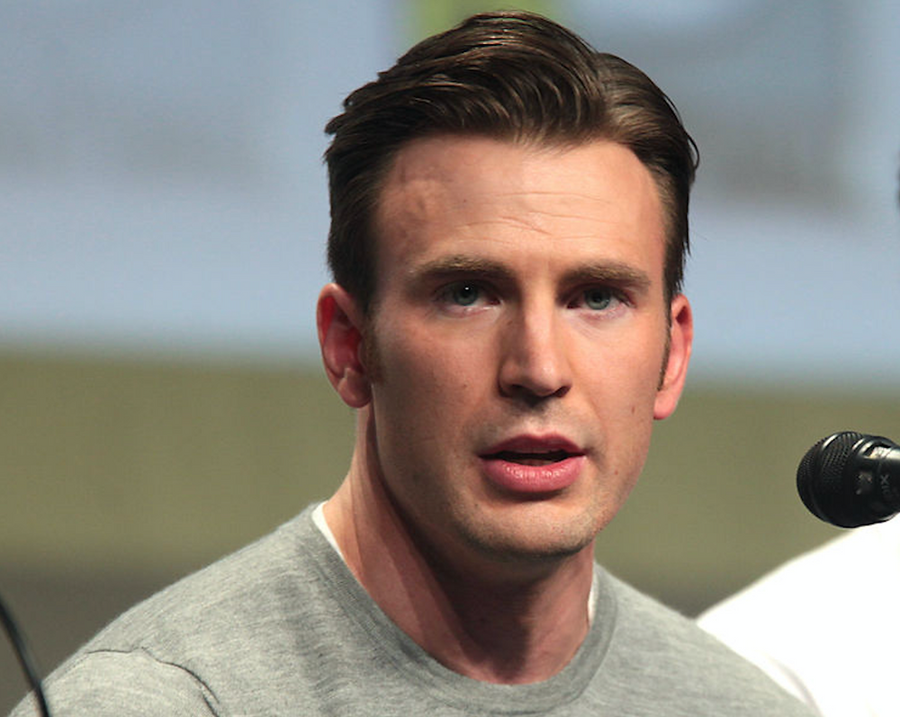 Chris Evans - Actor - Captain America - Mike Batie