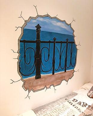 Sandra Robledo Ilusion Art - Mural Balco