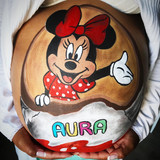 BellypaintKinder Minnie