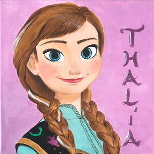 Cuadro - Anna Frozen - Disney - Sandra R