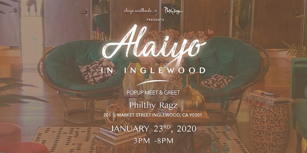 Alaiyo In Inglewood | Meet & Greet Popup