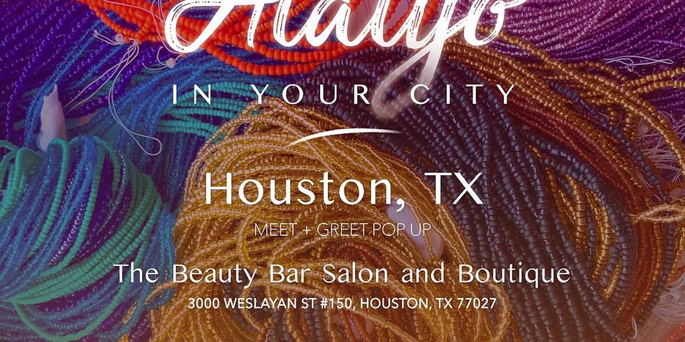 Alaiyo in Houston | Meet +Greet/Pop-Up 6:30pm