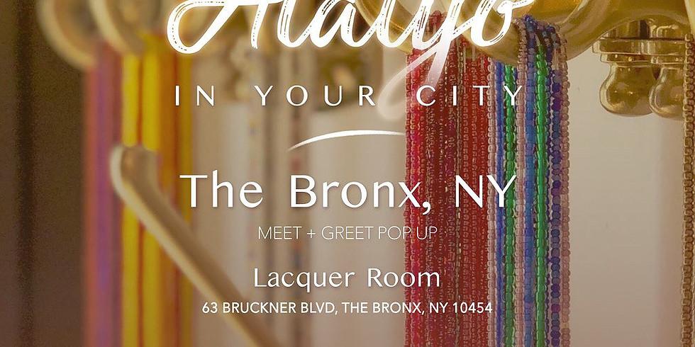 Alaiyo in the Bronx | Meet +Greet/Pop-Up 12pm
