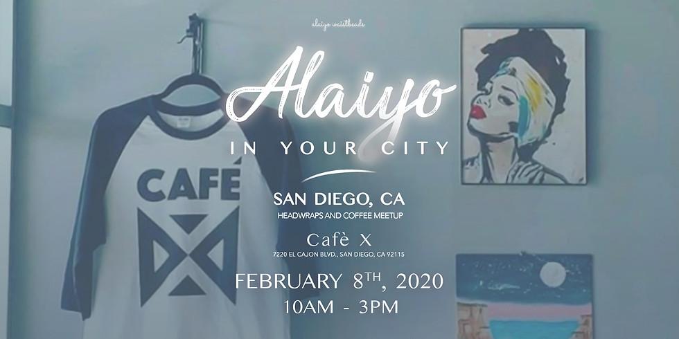 Alaiyo In San Diego | Headwraps & Coffee At Café X