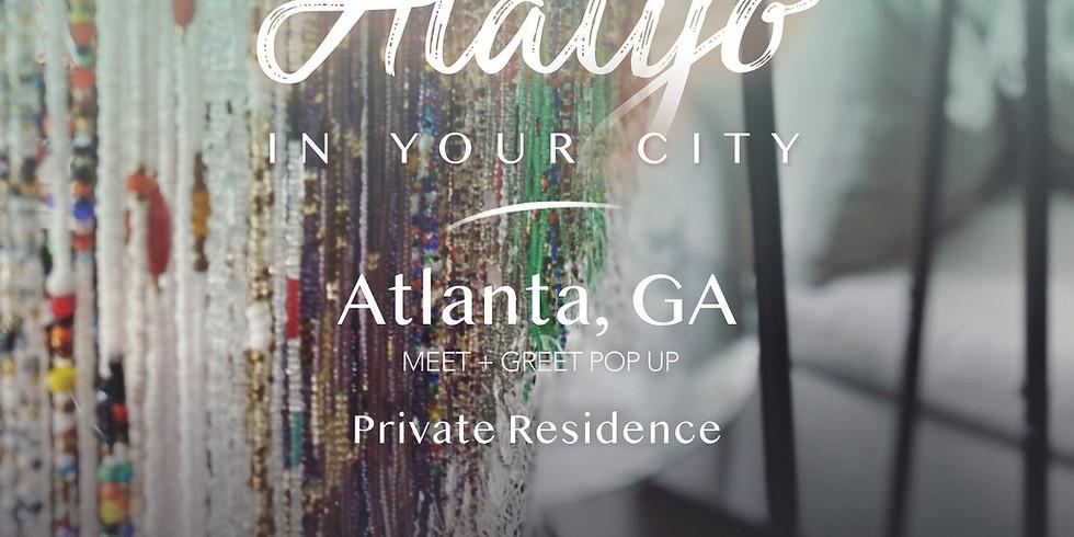 Alaiyo in Atlanta | Meet +Greet/Pop-Up 11:30am