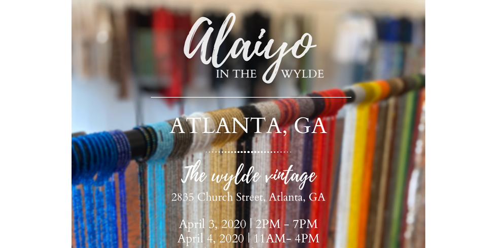 Alaiyo in the Wylde | Meet & Greet/Pop-up - Day One