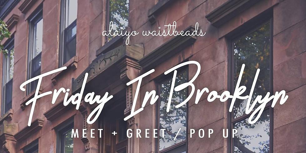 Friday In Brooklyn Meet + Greet / Popup