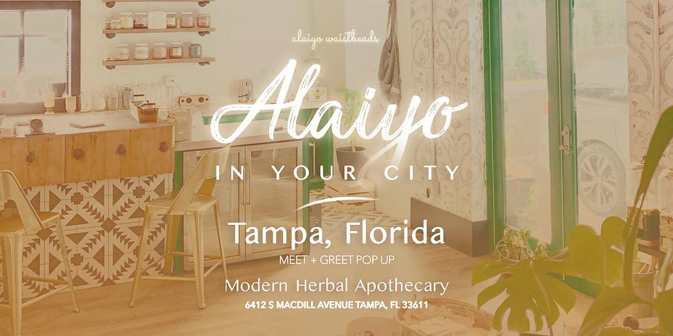 Alaiyo In Tampa | Meet +Greet/Pop-Up (Day Three)