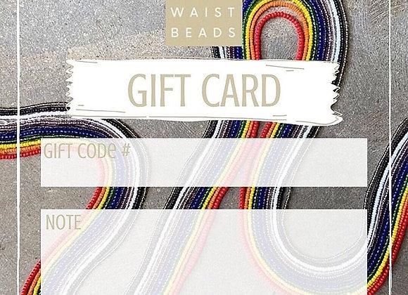 $100 Gift Code Card