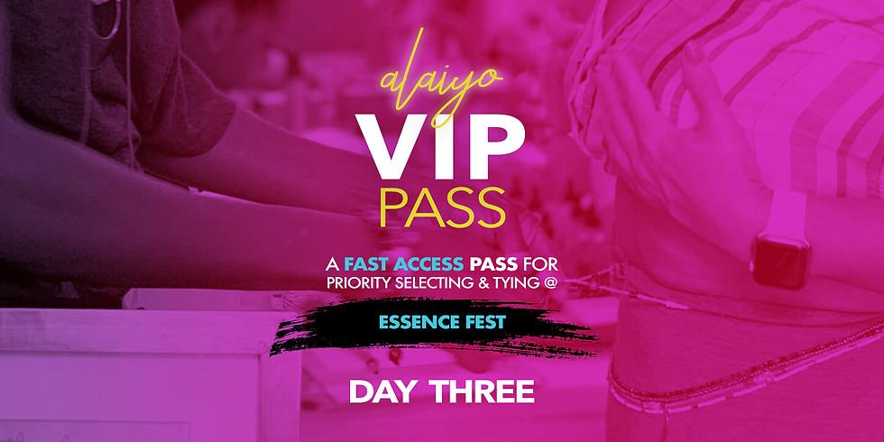 Alaiyo at The 25th Essence Festival - DAY THREE