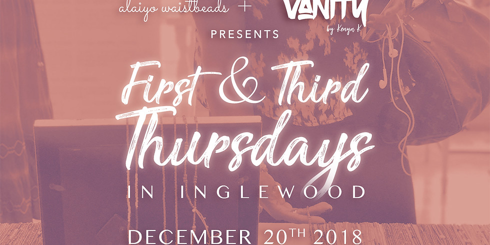 Alaiyo Waistbeads & VANITY | Style Showroom Presents: First & Third Thursdays