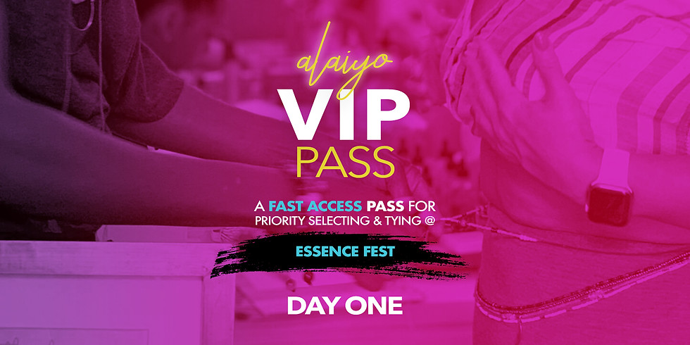 Essence Festival VIP PASS - DAY ONE (1)