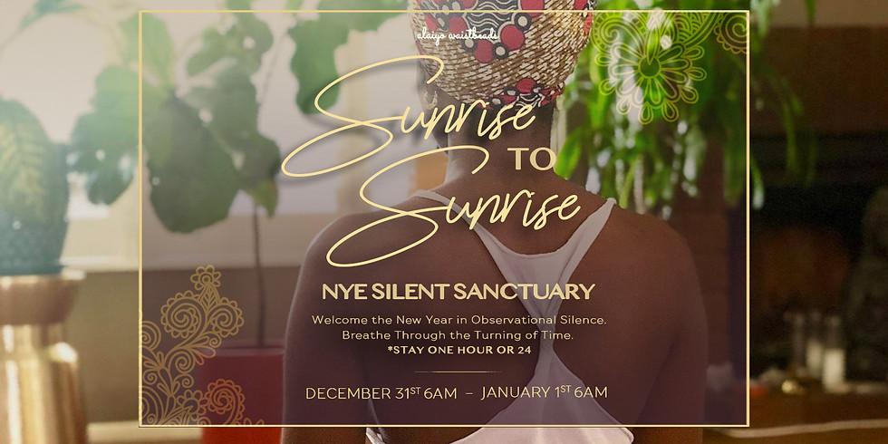 Sunrise to Sunrise: NYE Silent Sanctuary