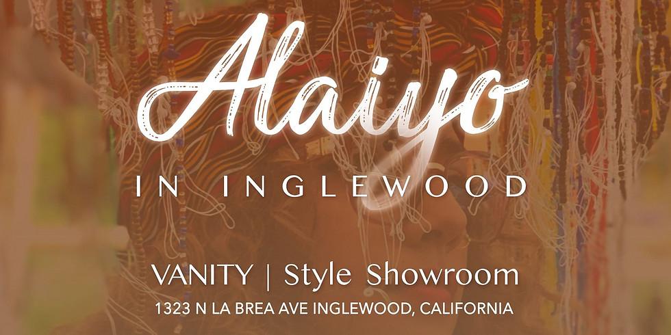 Alaiyo In Inglewood   Meet +Greet/Pop-Up