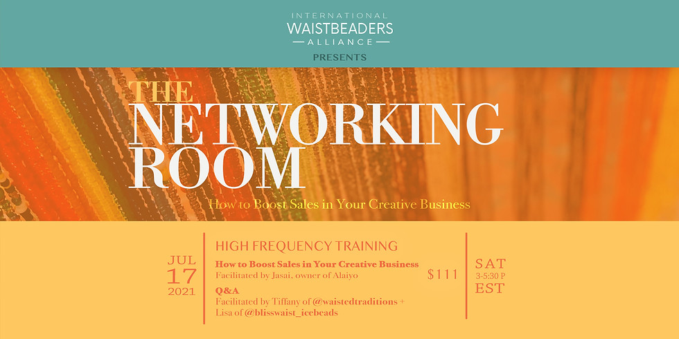 IWA Presents: The Networking Room - Session 4