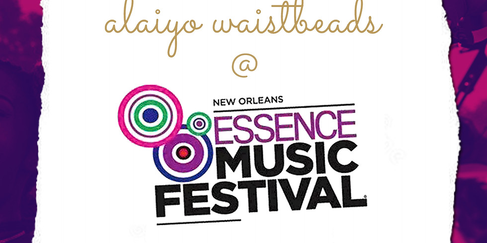 Alaiyo @ Essence Music Festival