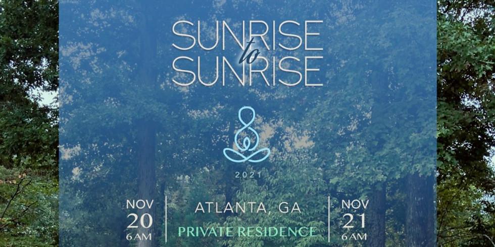 Sunrise to Sunrise Atlanta: Silent Meditation Retreat