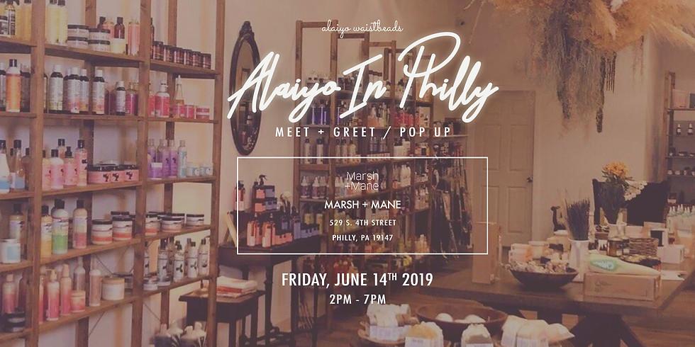 Alaiyo In Philly | Meet +Greet/Pop-Up (Day One)