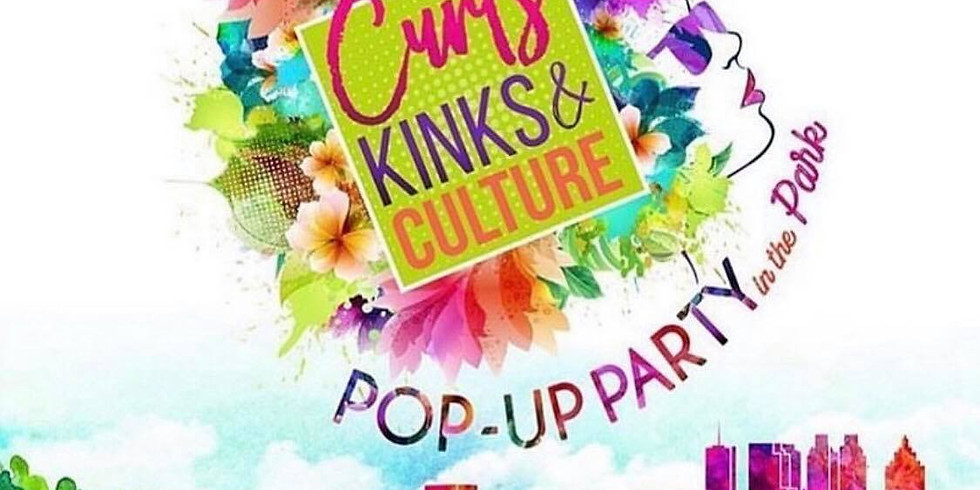 4th Annual Curls, Kinks & Culture POP-UP in the PARK