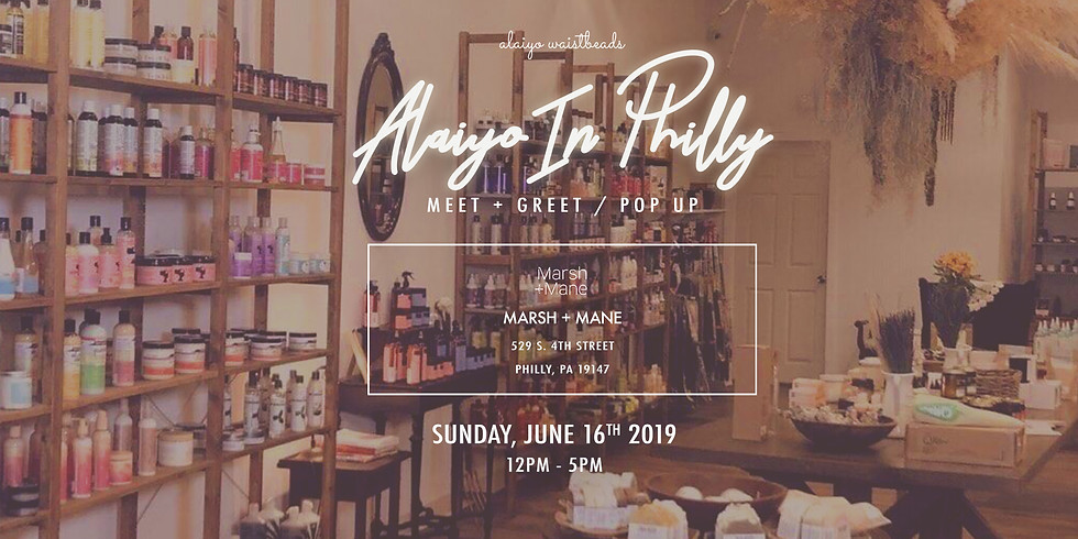 Alaiyo In Philly | Meet +Greet/Pop-Up (Day Three)