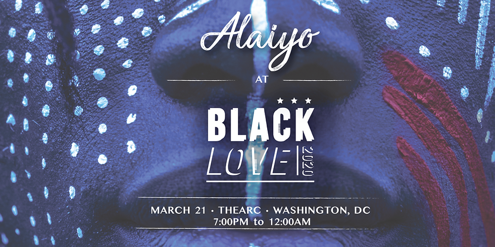 Alaiyo at The Black Love Experience | Washington DC