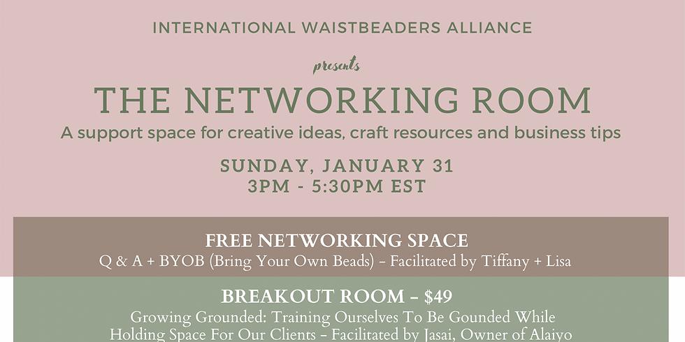 IWA Presents: The Networking Room