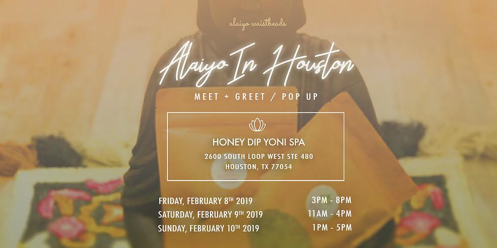 Alaiyo In Houston | Meet +Greet/Pop-Up (Day Two)