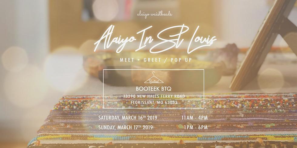Alaiyo In St. Louis | Meet +Greet/Pop-Up (Day Two)