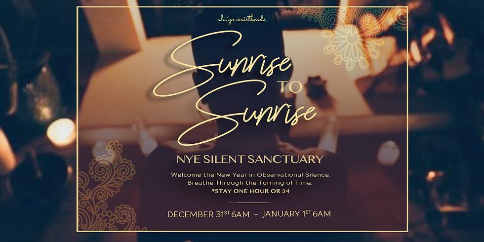 Sunrise to Sunrise: NYE Silent Sanctuary 2019