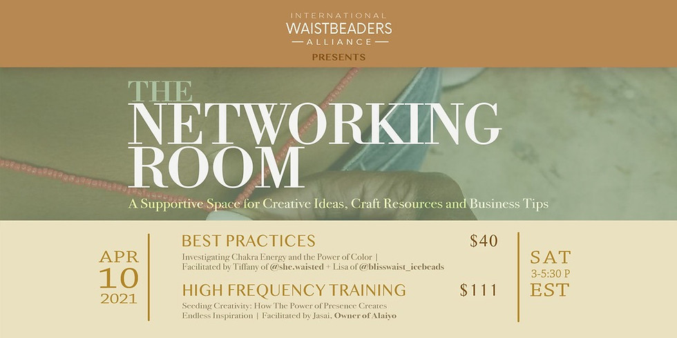 IWA Presents: The Networking Room - Session 3