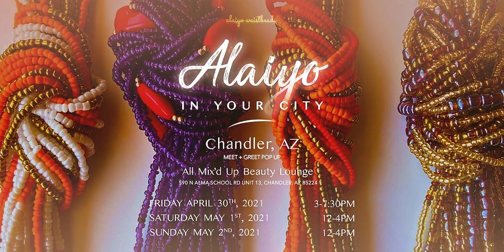 Alaiyo in Arizona | Meet +Greet/Pop-Up 4:30pm