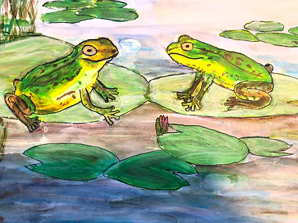 Holly's frog painting.jpeg