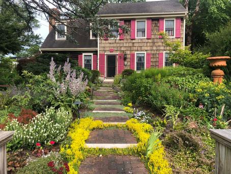 The Front Dooryard garden in Lewes