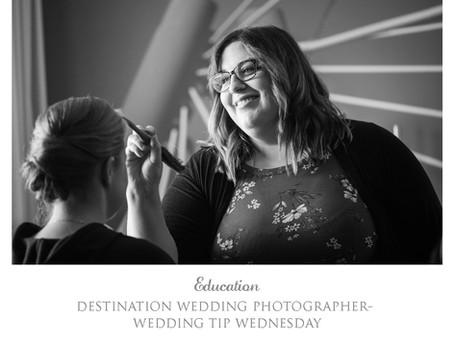 Wedding Tip Wednesday- Timeline Help