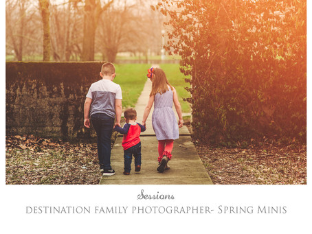 Spring Mini Sessions are Back!!!