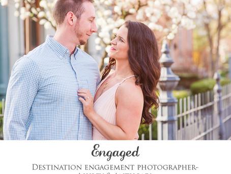 Engaged- Ashley & Anthony