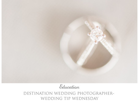 Wedding Tip Wednesday- 5 things to remember.