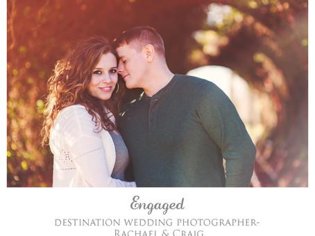 Destination Engagement Photographer- Rachael & Craig