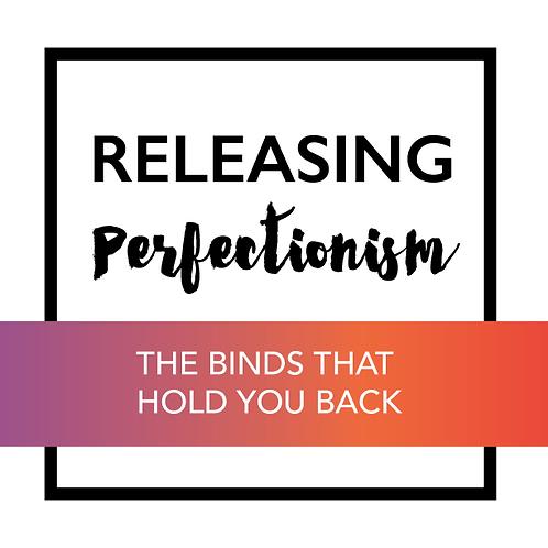 Releasing Perfectionism Workbook