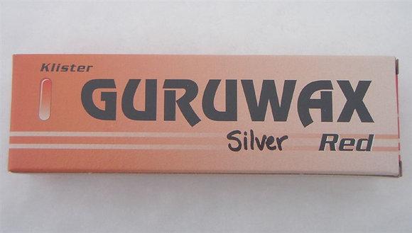 Guruwax Rödklister Silver