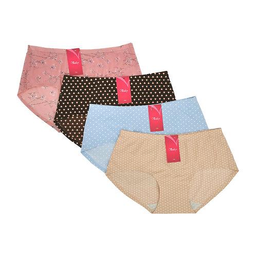 VENICY Comfort MicroFibre Panty Pack Isi 3 Spandex Cotton Mix Art.83183