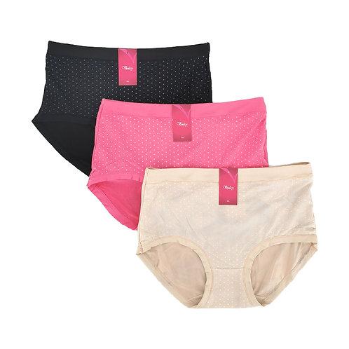 VENICY Panty Pack Isi 3 Polka Dot Art.3325